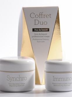 Cofre Crema SYNCHRO (50ml.) + Crema IMMUNO (30ml.). Gernétic.