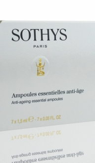 Cura esencial antiedad. 7 ampollas x 1,5ml. SOTHYS